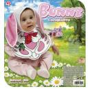 wholesale Toys:  bunny  (bonnet &  bib) - for children / unisex