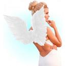 fehér tollas szárnyak 86x31 cm - felnőtteknek /