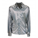 Großhandel Spielwaren: Silber holographische Stoff Hemd , ...