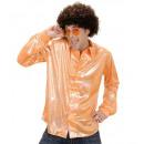 grossiste Jouets: Chemise en tissu holographique orange , Taille: (