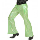 grossiste Jouets: pantalon en tissu holographique vert , Taille: (X