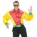 3 couleurs satin et velours chemise Sequ withholo