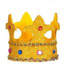 Großhandel Spielwaren: Mini-Glitter Kronen mit Edelsteinen ...