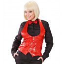 wholesale Skirts: ladies red sequin vest , Size: (XL) - for women