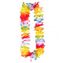 deluxe multicolor  hawaiian lei  - for adults / u