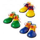 Großhandel Schuhe:  Clown - Schuhe  3  Farben ass. - Für Erwachsene -