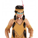 wholesale Toolboxes & Sets:  squaw indian wig  with headband & feather  in box