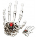 Großhandel Schmuck & Uhren:  Skelett Hand  Ringe  - für Erwachsene / unisex