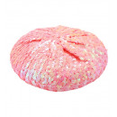wholesale Toys: pink sequin basco hat , Hat size: 0 - for women