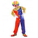 Großhandel Verkleidung & Kostüme: Clown (Overall), Größe: (140 cm / 8-10 Jahre) -
