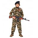 soldier  (coat,  pants, basco), Size: 2x(110 cm /