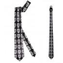 groothandel Speelgoed: satijn dia de los muertos stropdas - voor mannen