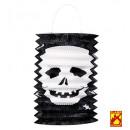 grossiste Articles de fête:  lanterne du  crâne  ø 16 cm - h 28 cm