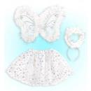 Engel (Tutu, Flügel, Halo) - für Mädchen