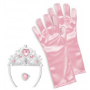 wholesale Licensed Products:  pink princess  set  (tiara,  gloves, ring) - ...