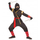 nagyker Játékok: ninja (kapucnis kabát, nadrág, öv, arcmaszk, kar