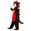 wholesale Dolls &Plush: plush black dragon (hooded jumpsuit), Size: ...