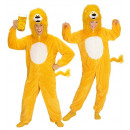 wholesale Dolls &Plush: yellow lion in soft plush (hooded jumpsuit ...
