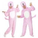 Plüsch in rosa Löwe weichen (mit Kapuze jumpsuit