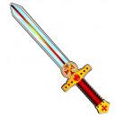 nagyker Gyermek bútor: puha eva hab keresztes kard alkalmas gyermek
