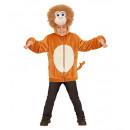 groothandel Speelgoed: Pluche aap (hoodie met masker), Afmeting: ...