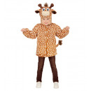 groothandel Speelgoed: Pluche giraffe (hoodie met masker), Afmeting: ...