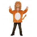 groothandel Speelgoed: Pluchen leeuw (hoodie met masker), Afmeting: ...