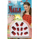 wholesale Scarves, Hats & Gloves: set of 10 ladybug nails , Hat size: 0 - for wome