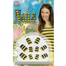 wholesale Manicure & Pedicure:  set of 10 bee nails  -  for women