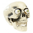 wholesale Outdoor Toys:  pvc skull with  real look bubble eyes  21 cm