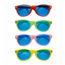 ingrosso Occhiali da sole:  occhiali da sole  giganti  4 colori ass. - per adu