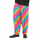 wholesale Trousers:  80's baggy pants  - rainbow , Size: (XL) -  for me