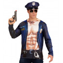 wholesale Pullover & Sweatshirts: police officer (photorealistic sublimation print