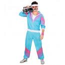 wholesale Costume Fashion:  80's shell suit   (jacket, pants), Size: (L) -  fo