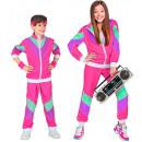 groothandel Speelgoed: 80's shell suit (jas, broek), Maat: (140 ...