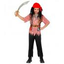 hurtownia Zabawki: pirat (koszula, spodnie, bandana), Rozmiar: (158