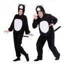 mayorista Deporte y ocio:  Felpa de gato  divertido  (mono con capucha y másc