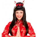 Chiny dziewczyny peruka w polu - dla kobiet