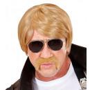 Großhandel Sonnenbrillen:  Blond  Undercover-Agent  Perücke mit ...
