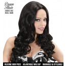 black gisele wig (long wavy hair) in color box,