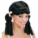 lolita wig black - in box, Hat size: 0 - for wo