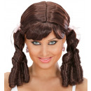 lolita wig brown - in box, Hat size: 0 - for wo