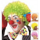 wholesale Toys: neon maxi curly wig in box - 4 colors assorted: