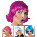 wholesale Toys: flipper wig in box - 4 colors assorted: white, p