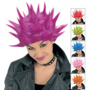 wholesale Toys: neon tekno wig in box - 6 colorsassorted: ...