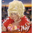 wholesale Garden & DIY store:  blonde drag queen  wig with flower  in box -  for