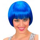 grossiste Jouets: perruque rave bleu - dans une boîte, Taille de c
