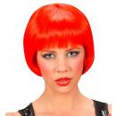grossiste Jouets: perruque rave rouge - dans une boîte, Taille de