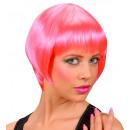 grossiste Jouets: perruque rave rose - dans une boîte, taille de c