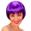 grossiste Jouets: perruque rave violet - dans une boîte, taille de